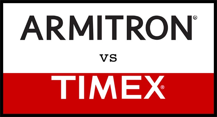 armitron vs timex