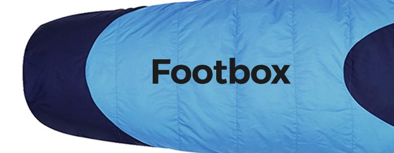 kelty cosmic 20 sleeping bag footbox